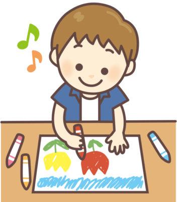 保育園 1歳児 お絵かき